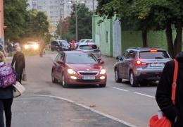 После открытия в Нарве новой улицы ученики Пяхклимяэской гимназии оказались в опасности