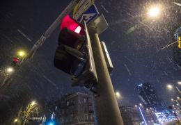 Жителей Эстонии предупредили об ухудшении дорожных условий