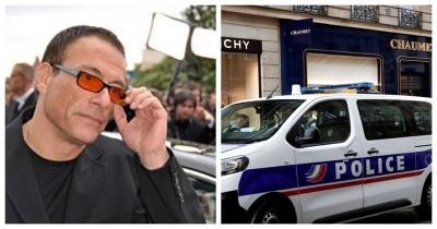 Жан-Клод Ван Дамм случайно помог ограбить ювелирный салон в Париже