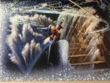 Девушка собрала самый большой в мире паззл за два месяца