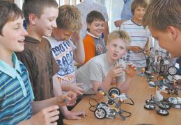 В Нарвском регионе появляются кружки робототехники