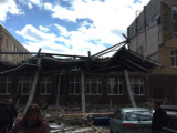 В Ленинградской области рухнул этаж почти достроенной школы