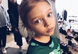 Самая красивая девочка России, которой восхищается весь мир