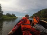 На Чудском озере учились спасать тонущих