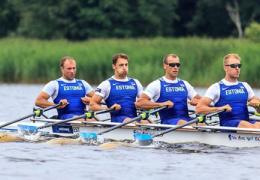 Эстонские гребцы завоевали бронзу чемпионата мира