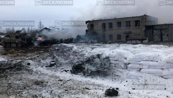 Взрыв в Кингисеппе: здание завода разрушено до основания искрой от болгарки