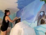 Результат превзошел все ожидания девочек - они были в восторге, как и сама художница!