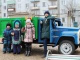 Грузовик, сделаный своими руками, в подарок детскому саду