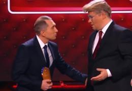 """YouTube ВИДЕО с пародией Comedy Club на переговоры Путина и Трампа """"взорвало"""" Сеть"""
