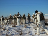 Более 200 эстонских и американских солдат двинулись в поход из Вока в Нарву