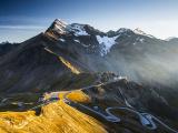 Красивая высокогорная дорога