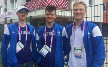 Нарвитянин Глеб Карпенко завоевал бронзовую медаль олимпийского юношеского фестиваля