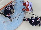 Россияне уступили хоккеистам США в серии буллитов