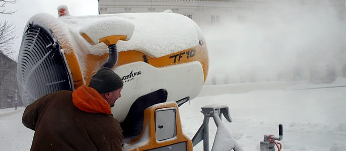 Нарва готовится к уникальной акции - строительству снежного городка