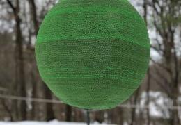 Как горят 42 тысячи спичек склеенные в шар