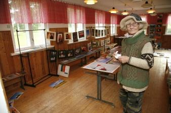 В Нарвском замке открылась фотовыставка Кристель Лукатс
