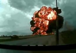 В сети появилось видео авиакатастрофы под Кабулом