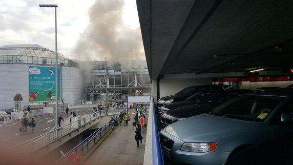 В Брюсселе теракт!