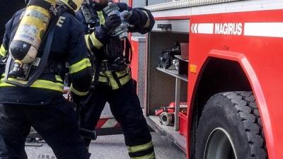В Нарве из горящего дома эвакуировали шесть человек