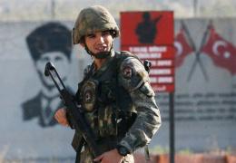 Турецкая армия взяла под контроль семь населенных пунктов