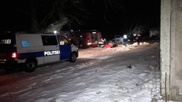 В ДТП в Ида-Вирумаа погибла женщина