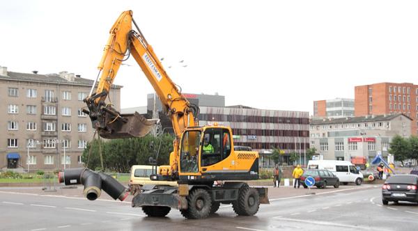 Сезонный ремонт дорог в Нарве завершён на 50%