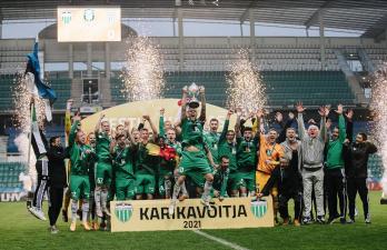 Владимир Васильев: Виктор Левада рад Кубку Эстонии, но еще больше ждет чемпионства