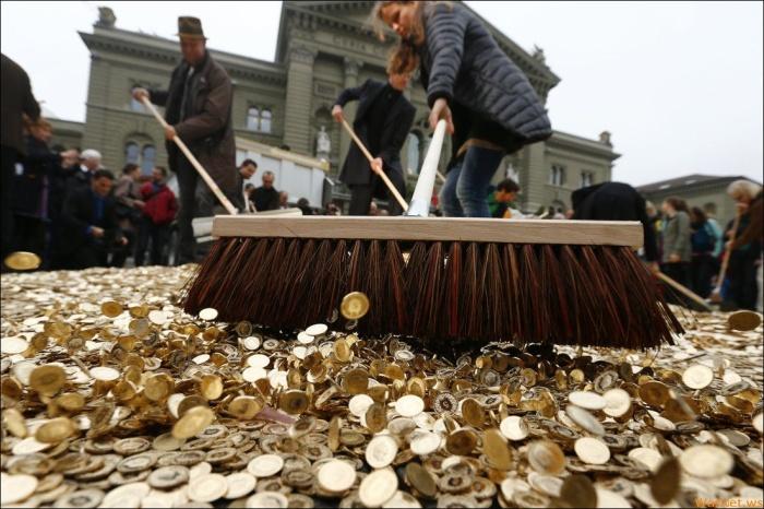 В Швейцарии сорят деньгами по-крупному