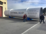 Это вакуум от Hyperloop