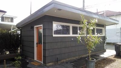 Роскошный гостевой домик в старом гараже