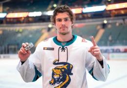 Нарвский хоккеист покоряет КХЛ