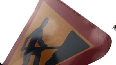 В Нарве для движения автотранспорта закрыта улица Раху