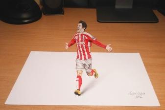 Удивительные 3D-рисунки от сербского художника