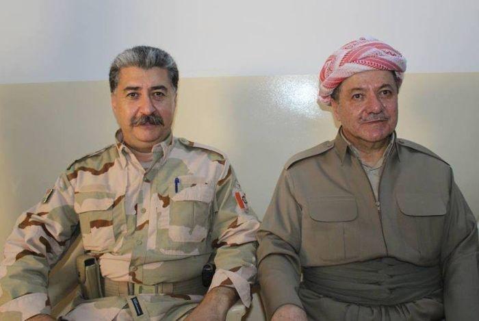 Хусейн Язданпан - курдский военачальник, который очень похож на Сталина