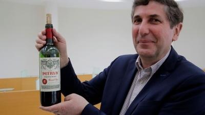 Вино с орбиты продадут за $1 миллион