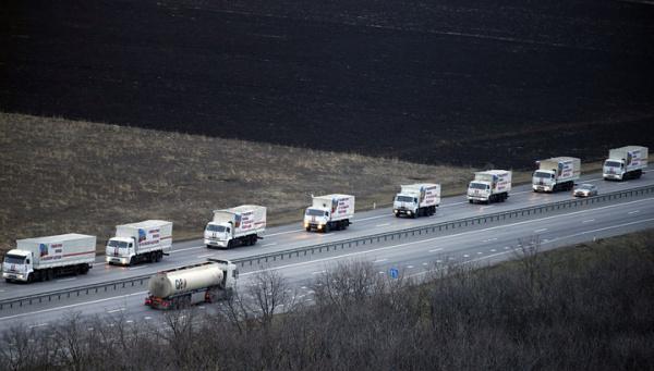 В марте в Донбасс отправятся три гуманитарных колонны МЧС
