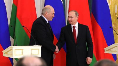 Москва и Минск подписали документы о цене на газ - менее 130 долларов за тысячу кубометров