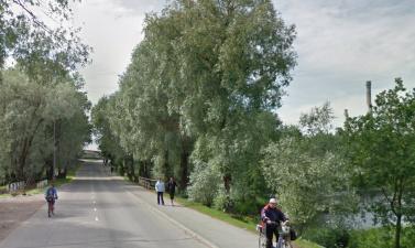 Дорогу через плотину на реке Сытке в Силламяэ закроют на 3 месяца на ремонт