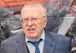Жириновский упал на сцене