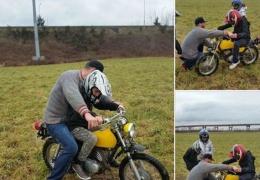 Раскаявшиеся подростки вернули украденный мотоцикл