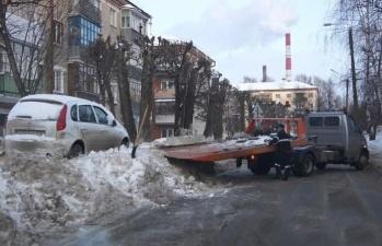 Эвакуация с юмором в Чебоксарах