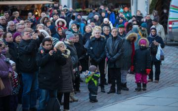 Население Таллинна приблизилось к отметке 450 000 человек