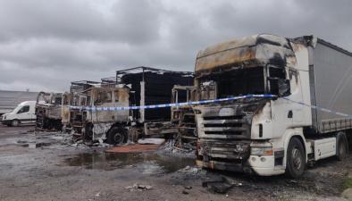 Владелец четырех сгоревших в Нарве фур пока не говорит о круге подозреваемых