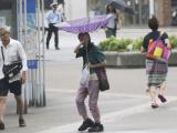 На Японию обрушился мощнейший за 25 лет тайфун