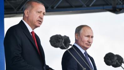 Путин с Эрдоганом обсудят жесткие заявления, которыми обменялись Турция и США