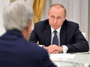 Керри на встрече с Путиным призвал активней бороться с террористами: дипломатия не бесконечна