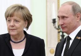 Путин: необходимо как можно скорее решить существующие проблемы между Россией и Германией