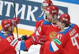 Российские хоккеисты победили команду Финляндии и заняли второе место на Кубке Первого канала