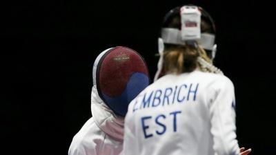 Эстонские шпажистки пробились в полуфинал олимпийского турнира