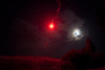 Запущенная для забавы в Нарва-Йыэсуу сигнальная ракета вызвала ложную тревогу среди пограничников